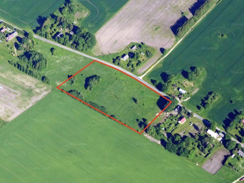 Property suitable for building in Järva parish