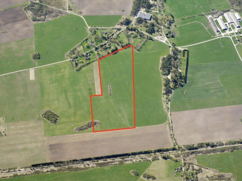 Две сельхозугодья возле Таэбла