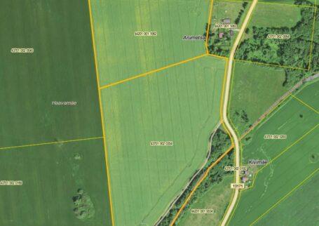 Ackerland in der Landgemeinde Lüganuse